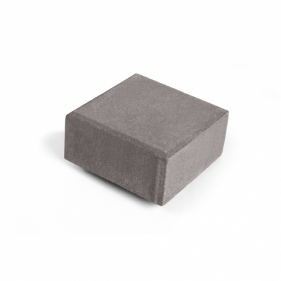 Тротуарная плитка  Квадрат (3К8ф) НОБЕТЕК 140х140х80 белый цемент- частичный прокрас, цвет в ассортименте