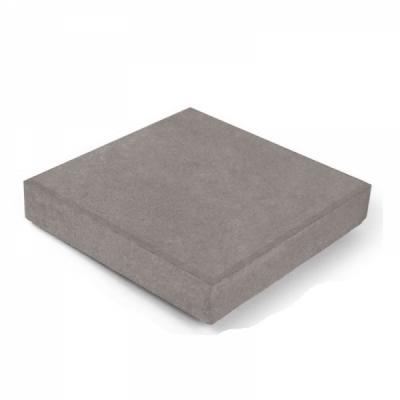 Тротуарная плитка Квадрат (2К5ф) НОБЕТЕК 300х300х50 Колор-Микс серый цемент- частичный прокрас, цвет в ассортименте