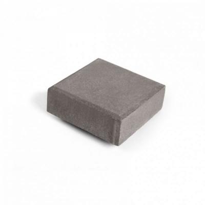 Тротуарная плитка  Квадрат (3К6ф) НОБЕТЕК Колор Микс 200х200х60 серый цемент- частичный прокрас, цвет в ассортименте