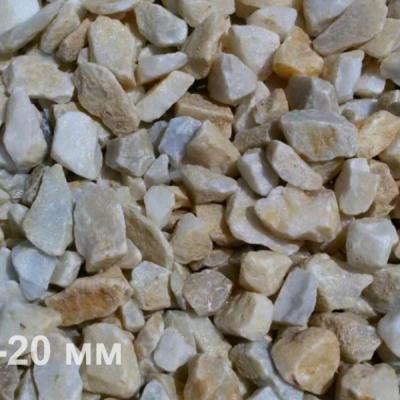 Мраморная крошка медовая 10-20 мм