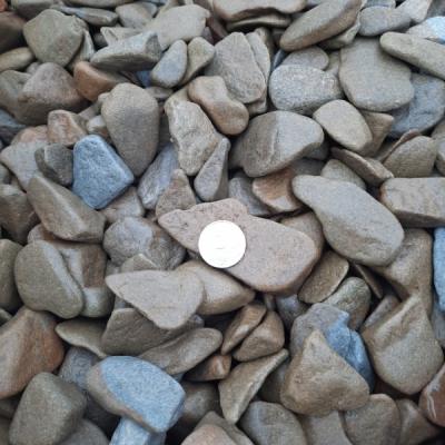 Галька галтованная из песчаника 20-40 мм
