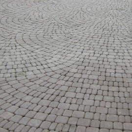 Тротуарная плитка  Классика (1КЛ6ф) серый цемент, полный прокрас