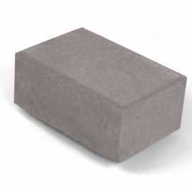 Брусчатка 1П8ф НОБЕТЕК 210х140х80 серый цемент- полный прокрас, цвет в ассортименте