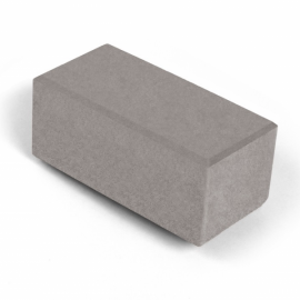 Брусчатка 2П8ф НОБЕТЕК 200х100х80 белый цемент- частичный прокрас, цвет в ассортименте