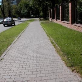 Тротуарная плитка  Катушка (1Ф8ф) НОБЕТЕК 200х165х80 серый цемент- полный прокрас, цвет в ассортименте