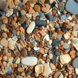 Галька морская каспийская Золотая осень 10-40 мм.
