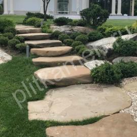 Скалистая плитка (ступени)