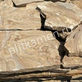 Плитняк песчаник Тигровый